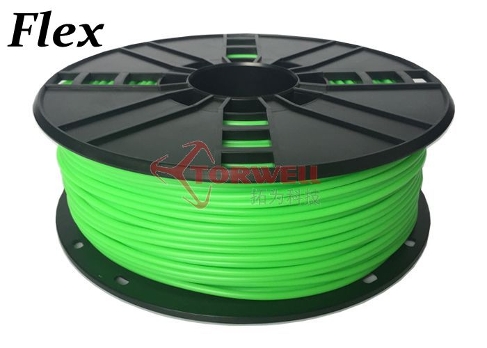 3mm Flexible Filament Green--Products Manufacturer of 3D